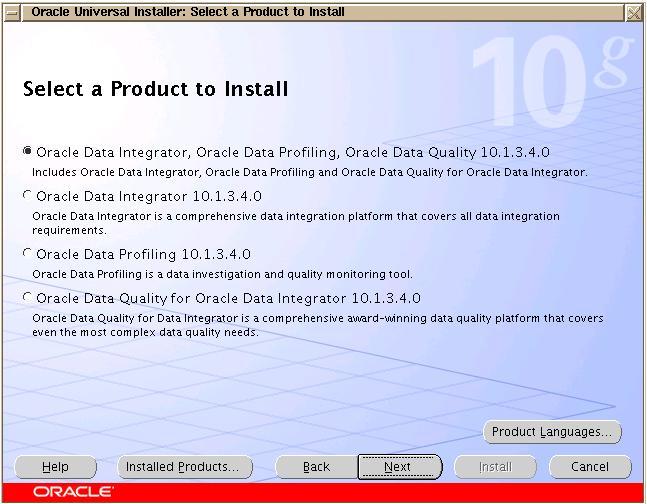Installing Oracle Data Integrator (ODI) – Persistent Storage